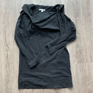 James Peres stretchy jersey hoodie